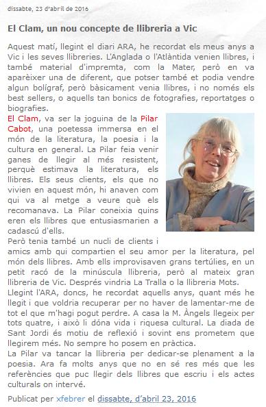 http://xfebrer.blogspot.com.es/2016/04/el-clam-un-nou-concepte-de-llibreria-vic.html