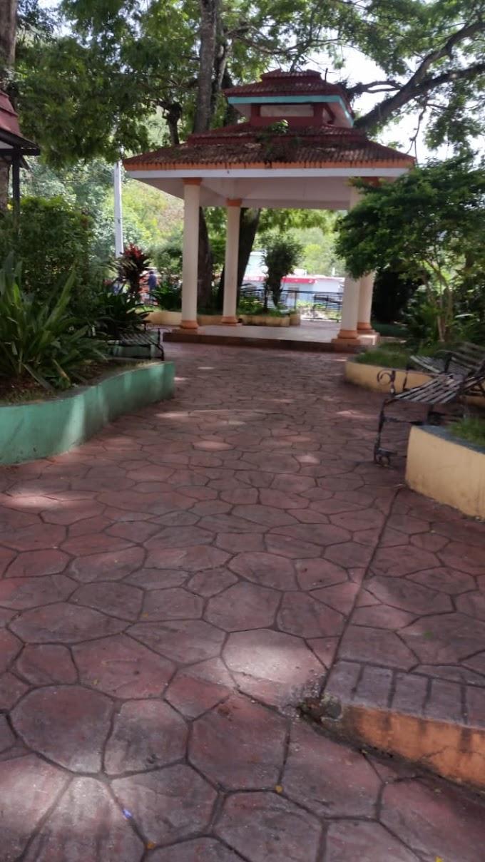 Alcaldesa Danilsa Cuevas desmiente parques estén abandonados