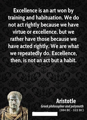 Excellence Quotes Aristotle