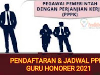 Berikut, Jadwal Tes Rekrutmen PPPK Guru Honorer 2021