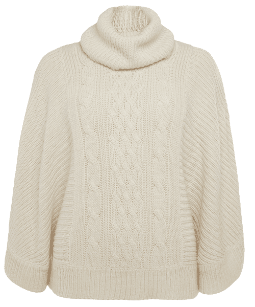 Primark online: jersey tipo poncho