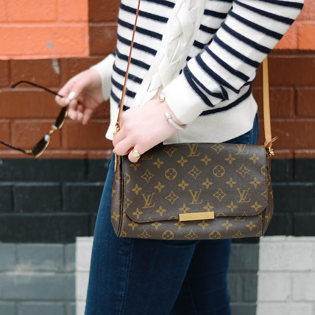 how to style louis vuitton favorite mm