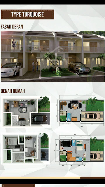 UP Town Hills Residence Turquise