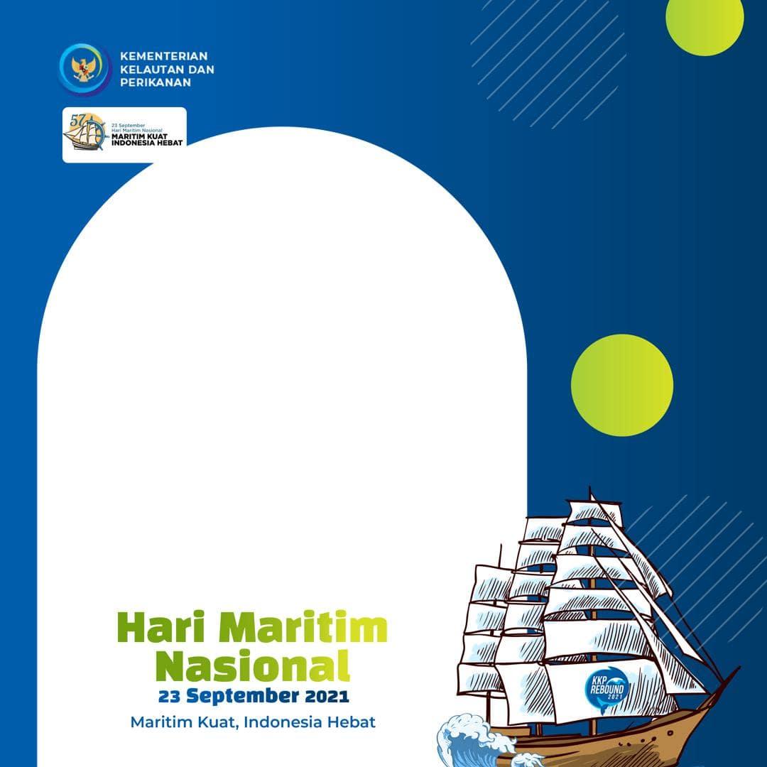 Link Bingkai Twibbon Hari Maritim Nasional ke-57 Tahun 2021