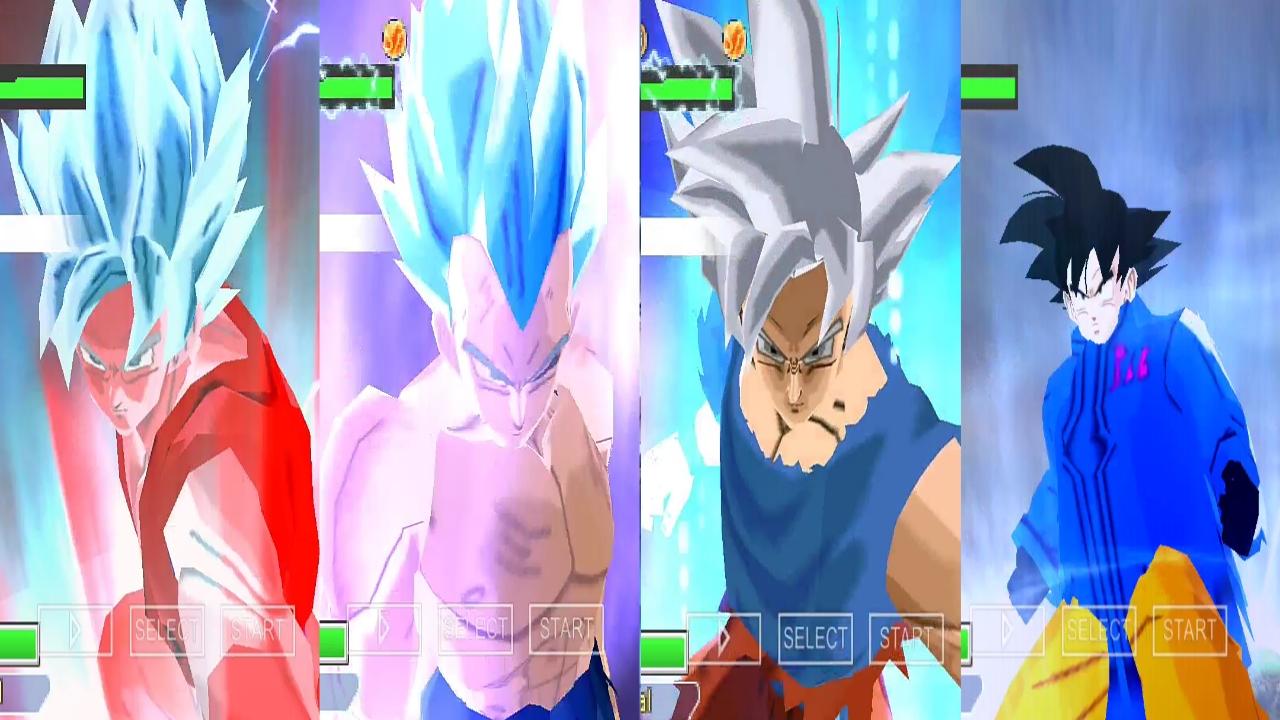 DBZ Budokai Tenkaichi 3 Mod Goku all forms