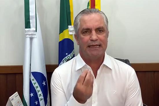 Prefeito de Maringá, Ulisses Maia. Café com Jornalista