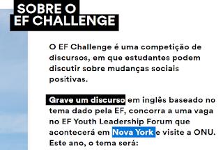 Concurso  EF Challenge  2020 -