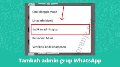 Cara Menambah Admin Grup WhatsApp