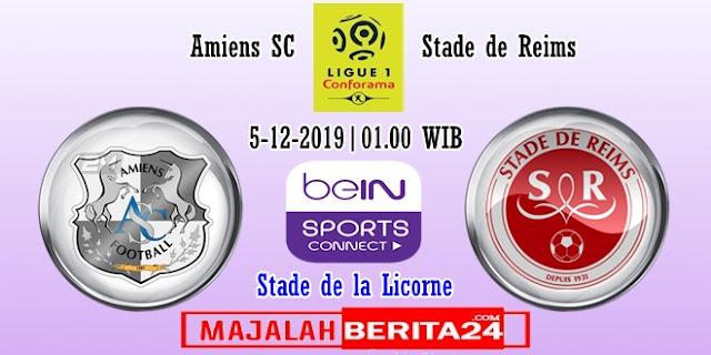 Prediksi Amiens SC vs Reims — 5 Desember 2019