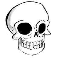 Как нарисовать череп человека