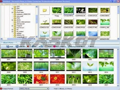 Download Foto2Avi, Image To Video Converter