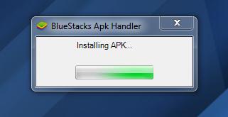 Installing BBM .apk