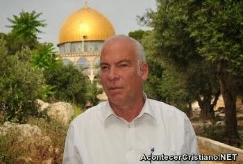 Ministro israelí en el Monte del Templo