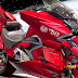 Photoshopped: HONDA NM4 Red Comet Motorbike