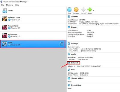 OS Virtual Windows 7