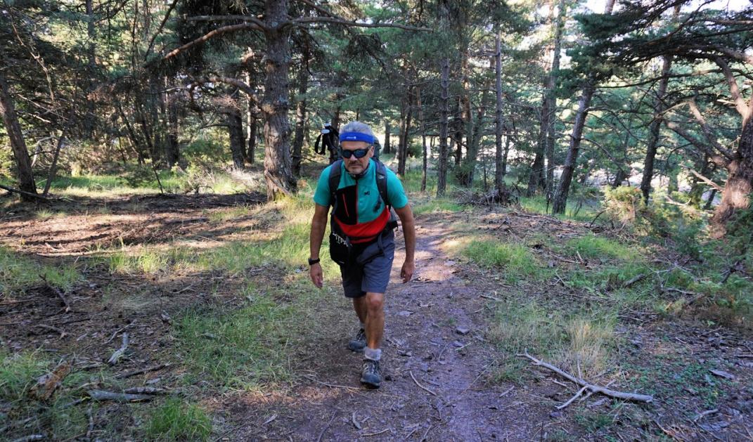 Trail above signpost 263 Gordolasque