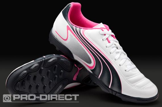 e1d612a3068 Online Futsal Shoes Shop  Puma v6.11 TT Football Boots - White Navy Pink