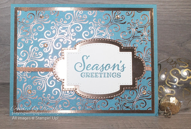 simple but elegant christmas card 2
