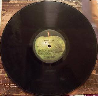 Beatles Abbey Road Vinyl Album Apple