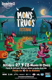 POSTER Festival MONSTRUOS 2018