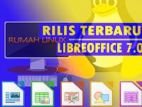 Rilis terbaru LibreOffice 7.0