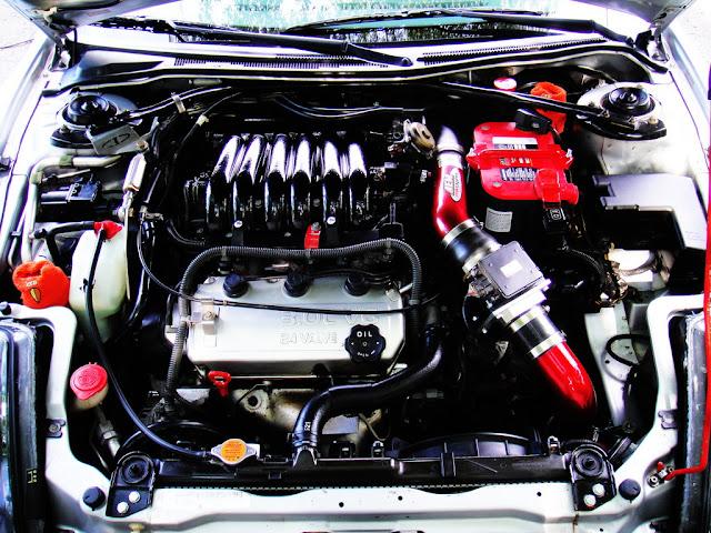 Mitsubishi Eclipse 3G, D50, V6, samochody z 6-cylindrowymi silnikami, 6G72
