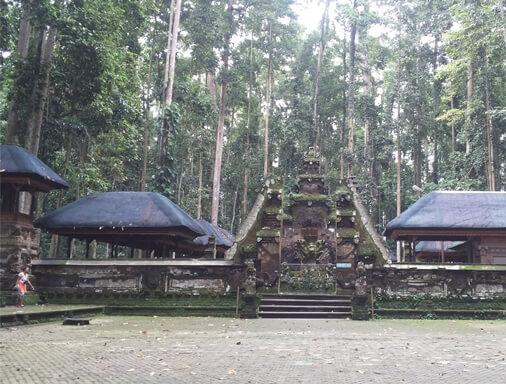Sangeh Monkey Forest is a wood expanse amount of nutmeg trees BaliBeaches: Sangeh Monkey Sanctuary & Bukit Sari Temple Bali