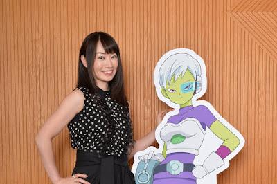 Nana Mizuki (Hinata Hyūga en Naruto) como Chirai.