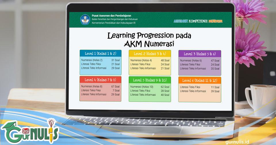 Learning Progression pada AKM Numerasi - www.gurnulis.id