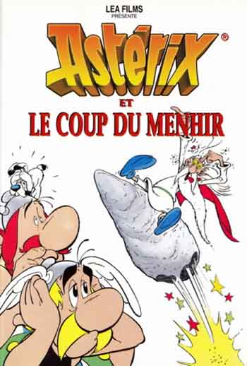 Asterix and the Big Fight 1989 480p 250MB BRRip Dual Audio