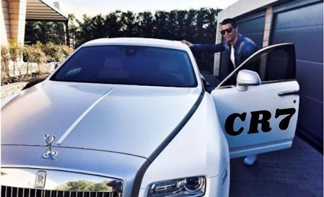 Cristiano Ronaldo New Car Price CR7 Rolls Royce cullinan