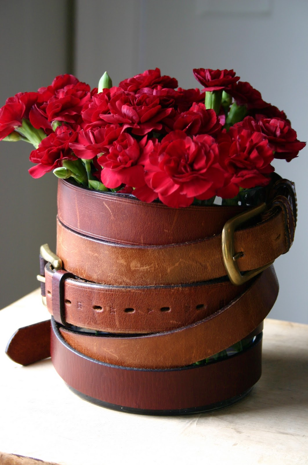 Dishfunctional Designs Belt It Out Upcycled Amp Repurposed