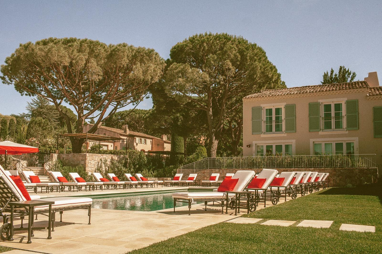 Hotel Lou Pinet in Saint-Tropez