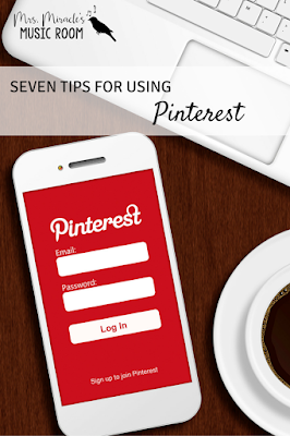 7 tips for using Pinterest: Includes great advice for how to pin from Pinterest and how to find engaging pins!