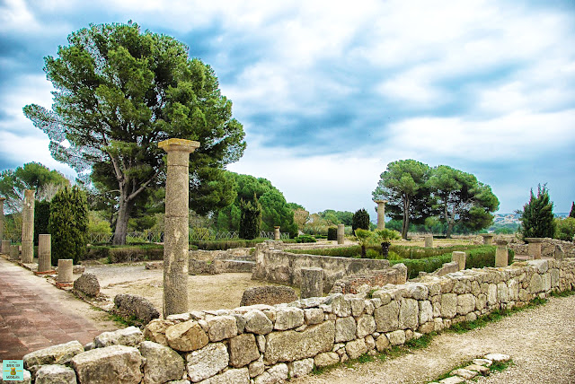 Ruinas de Empúries en Costa Brava