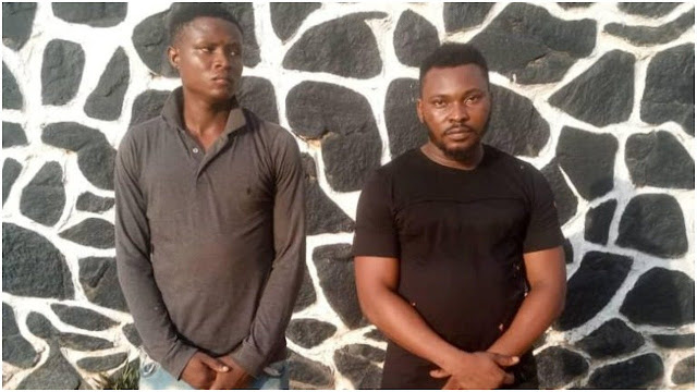 """Twomen  arrested for raping and filming 19-year-old girl in Ogun state"""