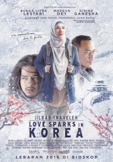 download film jilbab traveler love sparks in korea