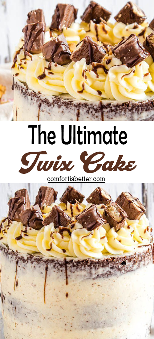 The Ultimate Twix Cake