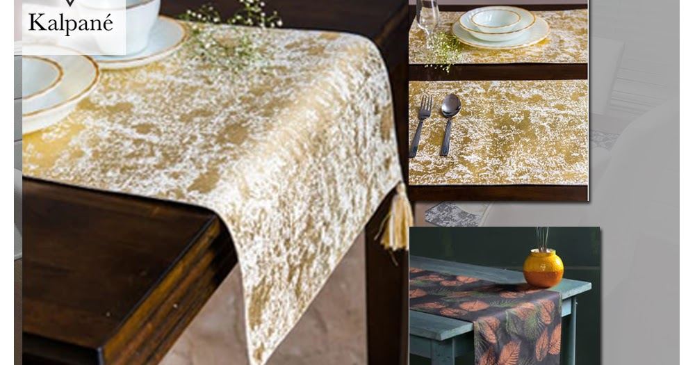 Place Table Mats With Good Design Will Make Table Look Stylish Beside Act As A Shield To Table