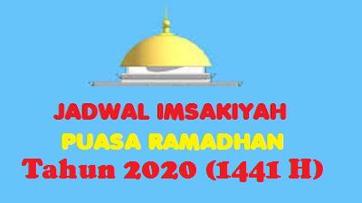 Jadwal Imsakiyah Ramadhan 2020 (1441 H)