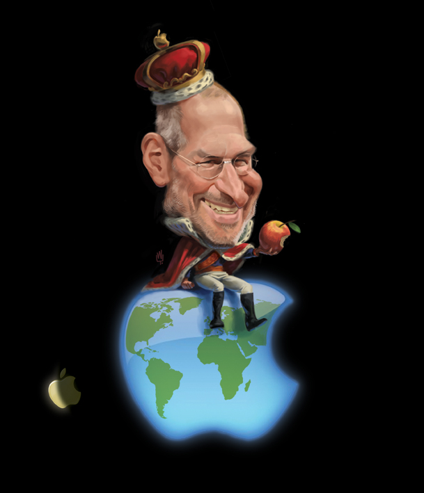 """Steve Jobs"" por Wouter Tulp"