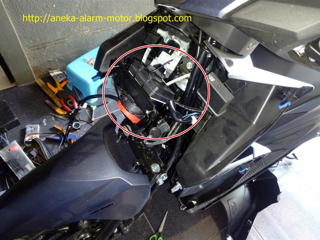 Aneka Alarm Motor: Cara pasang alarm motor remote pada Honda ... on