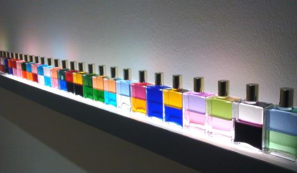 Novecento mai visto - Brescia - Daimler Art Collection - Sylvie Fleury, Aura Soma, 2002
