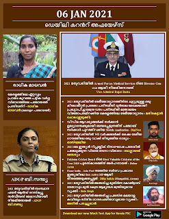 Daily Malayalam Current Affairs 06 Jan 2021