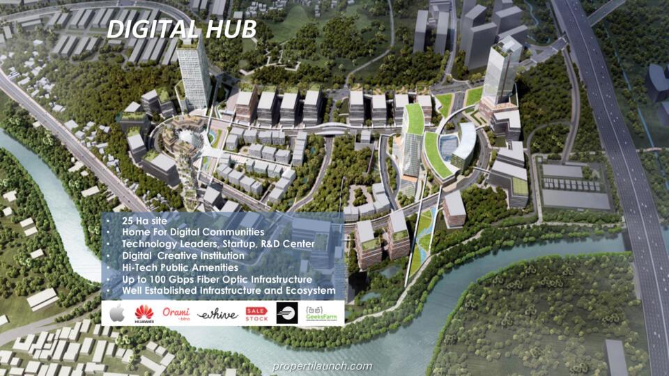 Digital Hub BSD City