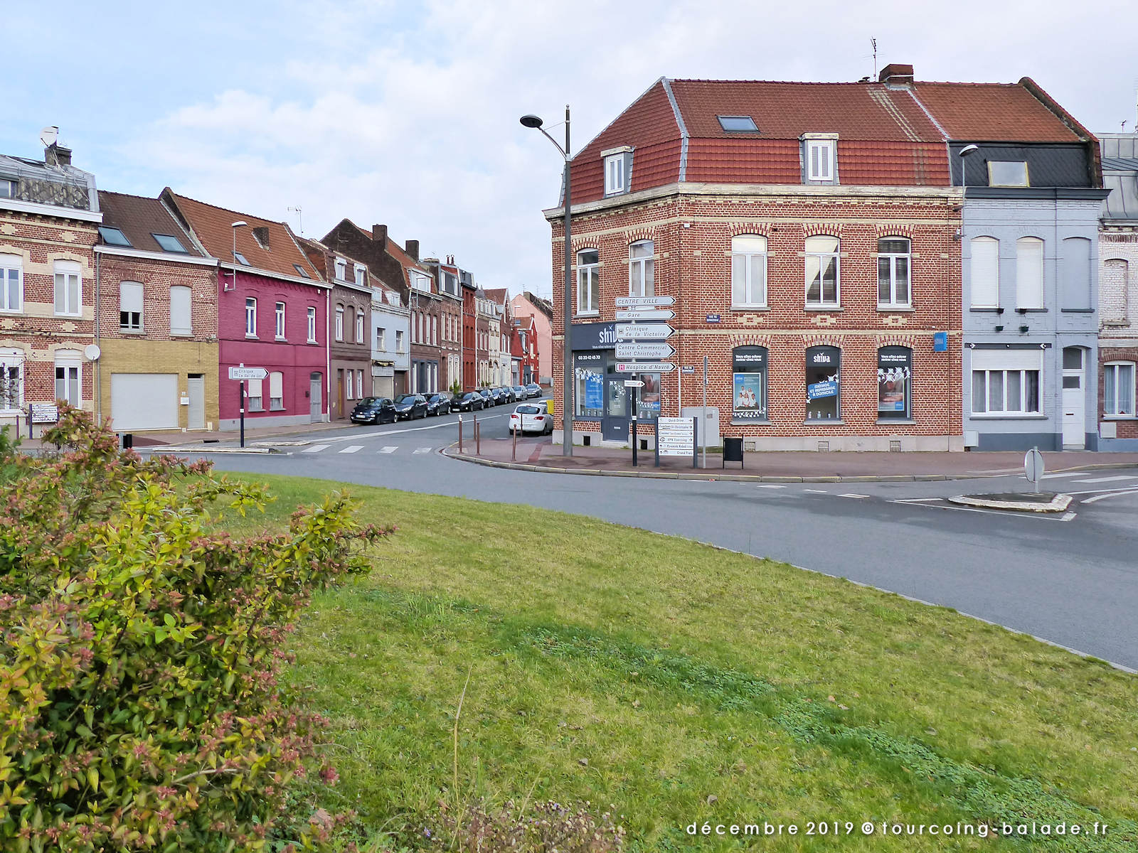 Rond Point des Sapeurs Pompiers, Tourcoing 2019
