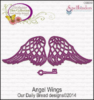 ODBD Custom Angel Wings Die Set