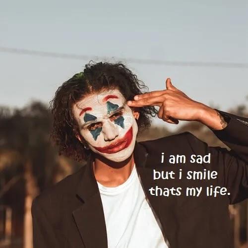 sad joker DP for boys