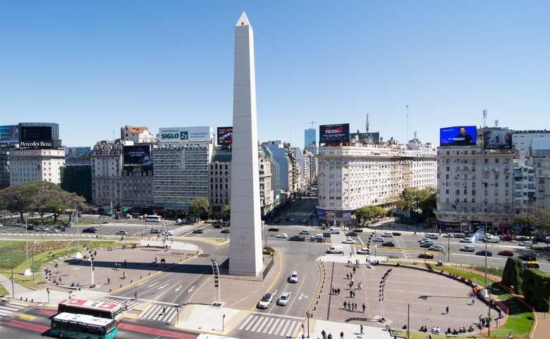 Os hoteis perto do Obelisco em Buenos Aires Argentina