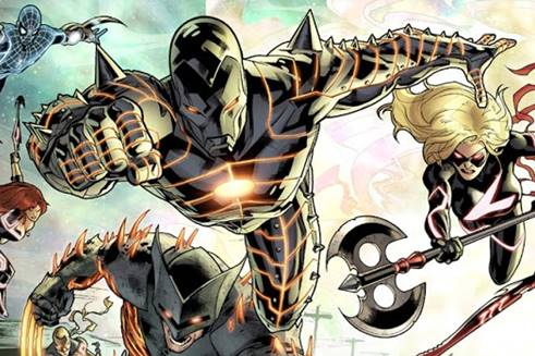 Iron Man en el evento Fear Itself / Miedo Encarnado de Marvel Comics